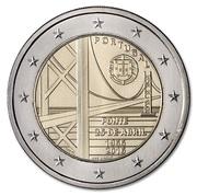 2 Euro (25th of April bridge) -  obverse