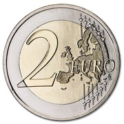 2 Euro (25th of April bridge) -  reverse