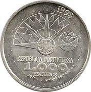 1000 Escudos (International Year of Oceans) – obverse