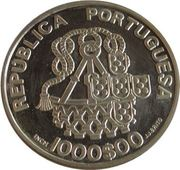1000 Escudos (Church of Mercy; Proof issue) – obverse