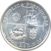 1000 Escudos (Dom Manuel I) – obverse