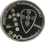 250 Escudos (Foundation of Portugal; Silver) -  obverse