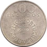 100 Escudos (Carnation Revolution) -  obverse