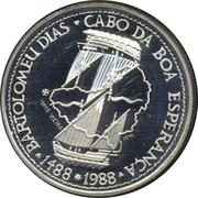 100 Escudos (Bartolomeu Dias; Silver) -  reverse