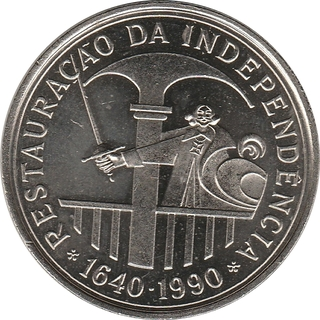 100 Escudos (Restoration of Independence; Silver
