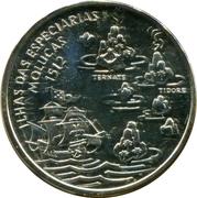 200 Escudos (Molluques; Silver) -  reverse