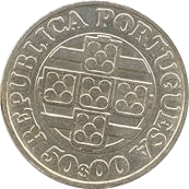 50 Escudos (Banco de Portugal) -  obverse