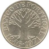 50 Escudos (Banco de Portugal) -  reverse