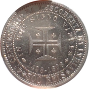 500 Reis - Carlos I (Discovery of India) -  reverse