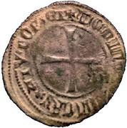½ Tornês Escudo - Fernando I (Zamora mint) – reverse