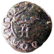 ½ Real Preto - Afonso V (No mint letter) – obverse