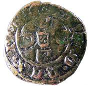 ½ Real Preto - Afonso V (No mint letter) – reverse