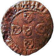 ½ Real Branco – João I (Porto mint) – reverse