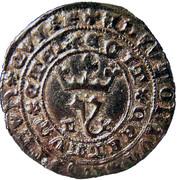 Real Branco - João I (Lisboa mint) – obverse