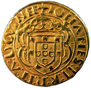 Cruzado - João II – obverse