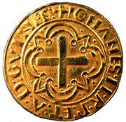 Cruzado - João II – reverse