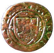 Ceitil - Manuel I (Group 2 - Castle with splited outside wall) – obverse
