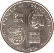 200 Escudos (Treaty of Tordesilhas) -  reverse