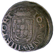 Vintem XX - João III (Lisboa mint) -  obverse