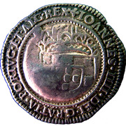 250 Réis - Pedro II (Countermark issue) – obverse