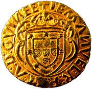 Cruzado - Manuel I – obverse