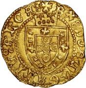 Meio Escudo - Afonso V – obverse