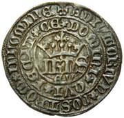 Real of 10 soldos - João I (Évora mint) – obverse