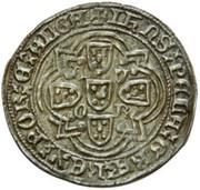 Real of 10 soldos - João I (Évora mint) – reverse