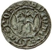 ½ Real - João I (Porto mint) – obverse