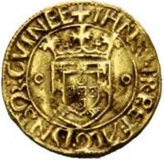 Espadim or ½ Justo- João II – obverse