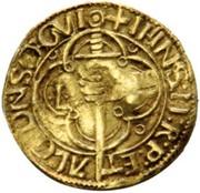 Espadim or ½ Justo- João II – reverse