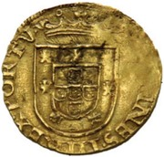 ½ São Vicente - João III (Lisboa mint) – obverse