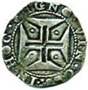 ½ Cruzado - João IV (Lisboa) – reverse