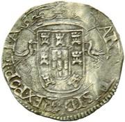 Cruzado - António I (Angra) – obverse