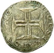 Cruzado - António I (Angra) – reverse