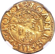 Cruzado - João III (Lisbon) – obverse