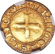 Cruzado - João III (Lisbon) – reverse