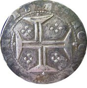 "Tostão - João IV (Lisbon mint ""L-S"") – reverse"