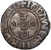 ½ Vintém - João II – reverse