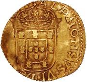 4 Cruzados - Afonso VI – obverse