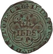 1 Real of 3½ Libras - João I (Porto mint) – obverse