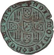 1 Real of 3½ Libras - João I (Porto mint) – reverse