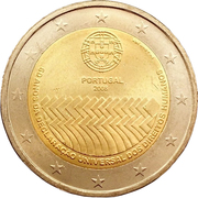 2 Euro (Human Rights) -  obverse