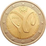 2 Euro (Lusophony Games) -  obverse