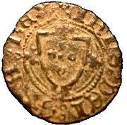 ¼ Real Cruzado - João I (Porto Mint) – obverse