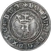 Leal - Afonso V (Lisboa mint) – obverse