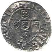 ½ Vintém – João II – obverse