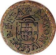 2 Reais - António I (Angra mint) – obverse