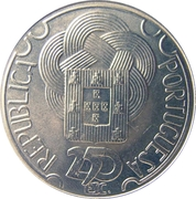 250 Escudos (Olympic Games in Seoul; Silver) -  obverse
