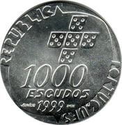 1000 Escudos (Revolution of April 25) -  obverse